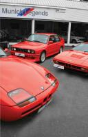 Red BMWs